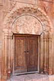 Surb Astvatsatsin church door Royalty Free Stock Photography