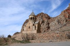 Surb Astvatsatsin church in Noravank orthodox monastery, Armenia Stock Photography