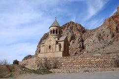 Surb Astvatsatsin church in Noravank orthodox monastery, Armenia Stock Photography