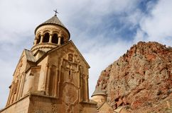 Surb Astvatsatsin (Holy Mother of God) church,Noravank,Armenia Royalty Free Stock Image