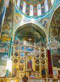 In Surb Gevorg Church in Tbilisi Royalty Free Stock Photography