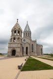 Surb Ghazanchetsots教会在Shushi纳格尔诺-卡扎巴赫 免版税库存照片