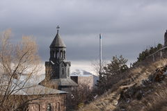 Surb Hakob chapel dome, Sevan, Armenia Royalty Free Stock Images