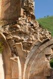 Surb Karapet教会详细的废墟  免版税库存照片