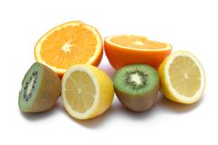 Surcharge de vitamine C Images libres de droits