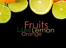 Surcharge de vitamine C Photos libres de droits