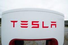 Surchauffeur de Tesla Photos libres de droits