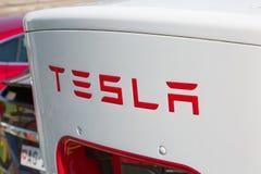 Surchauffeur de Tesla Photo stock