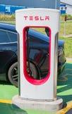 Surchauffeur de Tesla Photos stock