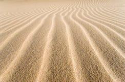 Surco de la arena ausente Imágenes de archivo libres de regalías
