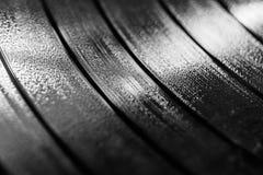 Surcos del expediente de LP del vinilo para el fondo musical II imagenes de archivo