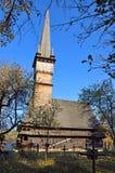 Surdesti: chiesa di legno Immagine Stock