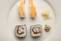 Sure bet with Sushi stock photo