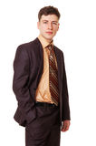 Sure young businessman Stock Images
