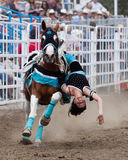 SureShot Acts - Sisters, Oregon Rodeo 2011 Royalty Free Stock Photos