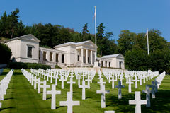 Suresnes American Cemetery Royalty Free Stock Images