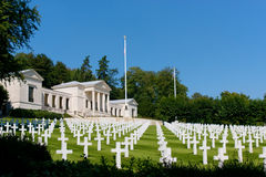 Suresnes American Cemetery Stock Photography