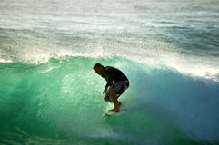 Surf Action Stock Photography