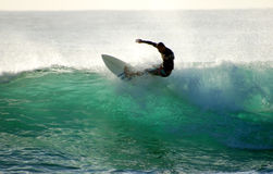 Surf Action Royalty Free Stock Images