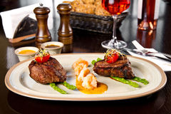 Surf And Turf Royalty Free Stock Image