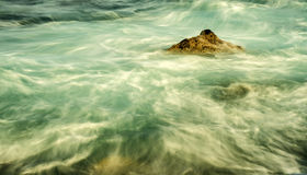 Surf of the Atlantic ocean Stock Photography