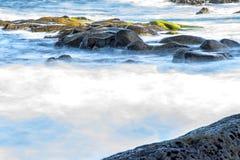 Surf of the atlantic ocean Stock Photo