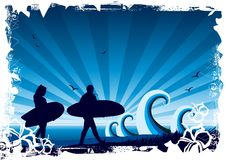Surf Background royalty free stock photos