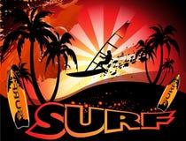 Surf background Stock Photos