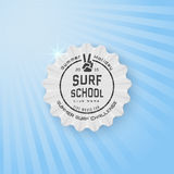 Surf badges logos and labels for any use Stock Photo