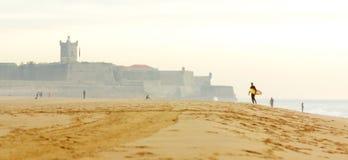 Surf Beach Stock Image