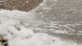 Surf on beach Stock Photo