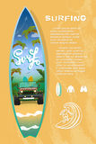 Surf board sale Royalty Free Stock Images