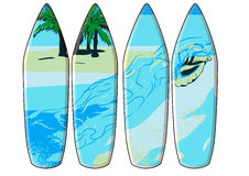 Surf board Royalty Free Stock Photos