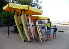 Surf board Stock Photos
