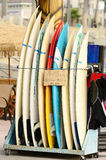 Surf Boards Royalty Free Stock Photos