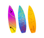 Surf boards Stock Image