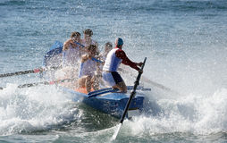 Surf Boat Royalty Free Stock Image
