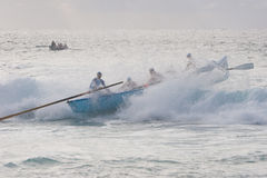 Surf Boat Stock Photography