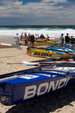 Surf Boat Carnival Royalty Free Stock Photos