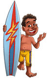 Surf boy Stock Photography