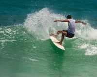 Surf Brazil stock photography