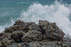 surf burzowa Obraz Stock