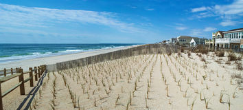 Surf City Panorama Stock Images