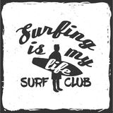 Surf club concept. Stock Photography