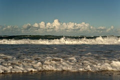 Surf coming in royalty free stock photos