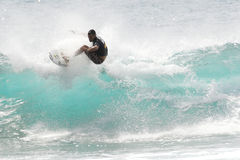 Surf Competition Royalty Free Stock Photo