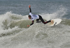 Surf competitor Royalty Free Stock Photos