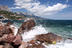 Surf in Crimea Royalty Free Stock Photos