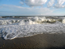 Surf in Crimea. Surf Crimea shore wave see ocean Royalty Free Stock Photos