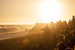 Surf Crowd Royalty Free Stock Images
